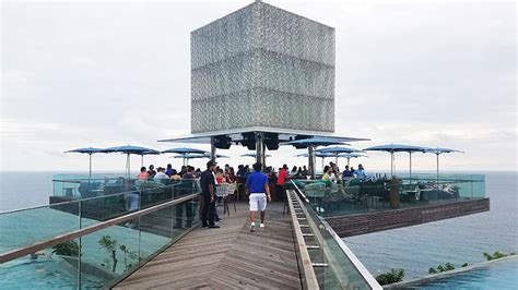stainless steel floating omnia dayclub bali is open seminyak times