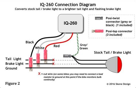 Ducati Led Light Wiring Diagram by Iq 260 P3 Dynamic Brake Lights System Controller Only