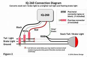 Led Wiring Schematics On A Motorcycle : iq 260 p3 dynamic brake lights system controller only ~ A.2002-acura-tl-radio.info Haus und Dekorationen