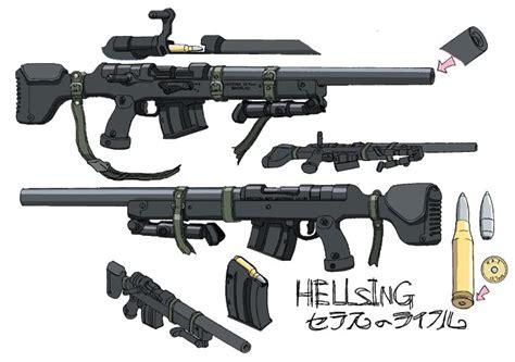 Seras Victoria's Original Rifle
