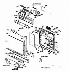 Ge Gsd4310y72aa Dishwasher Parts