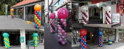 ballon pilaren voor diverse klanten  nederland ballonnenpartners