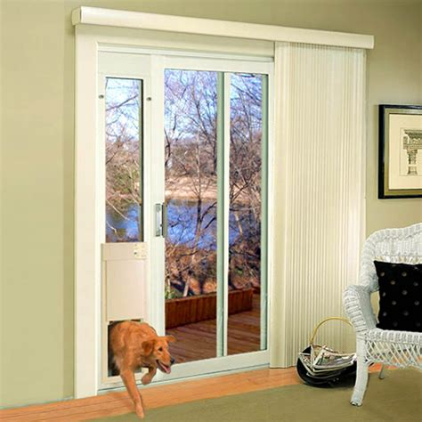 Pet Door For Patio And Sliding Doors - high tech pet large power pet patio panel pet door