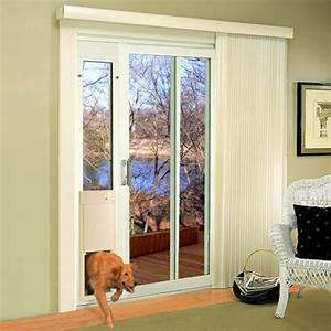 high tech pet large power pet patio panel pet door short With patio panel dog door
