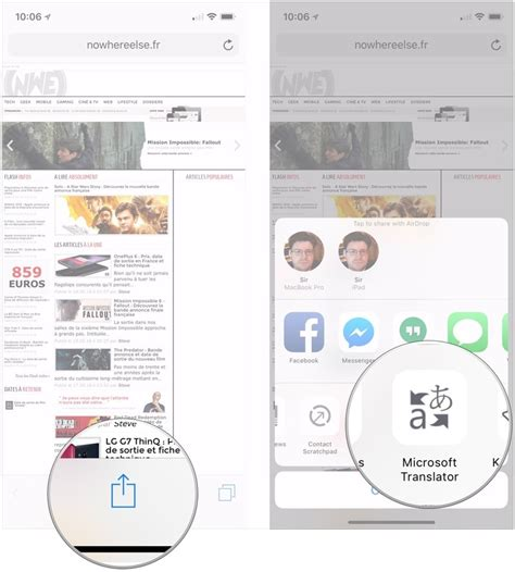 how to translate a page on iphone how to quickly translate webpages in safari for iphone and
