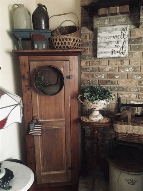 pin   tilley  home sweet home   country cupboard sweet home wooden
