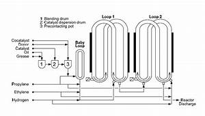 Process Flow Diagram Of Industrial Loop Reactor