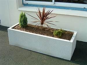Jardiniere Beton Cellulaire : jardiniere rectangulaire beton ~ Melissatoandfro.com Idées de Décoration