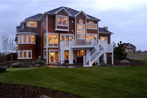 shingle style craftsman house plan  sq ft home plan
