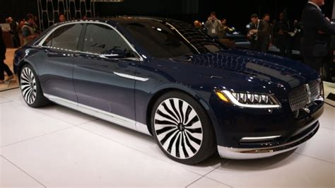 lincoln continental car reviews price  release date