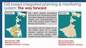 GIS based integrated planning and monitoring system - Mr ...