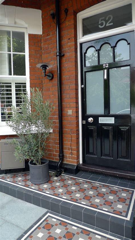 victorian mosaic porch step london victorian front doors front door steps porch tile