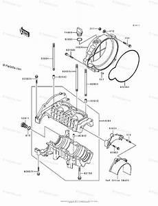 Kawasaki Jet Ski 1995 Oem Parts Diagram For Crankcase