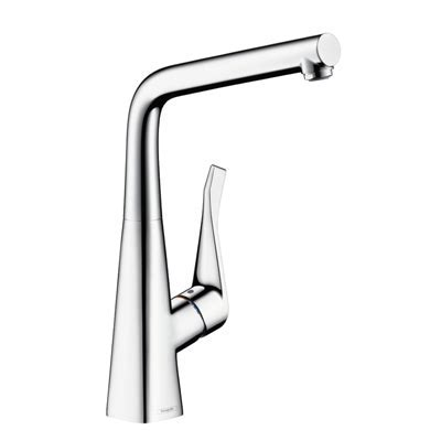 Hansgrohe Metris Single Lever Kitchen Mixer Chrome 14822000