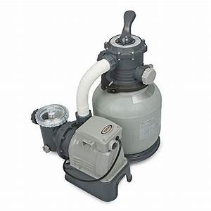 Intex Krystal Clear Sand Filter Pump For Above