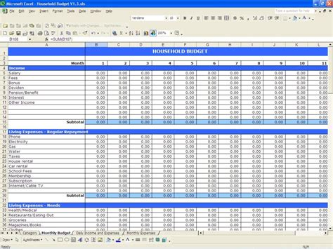 free finance spreadsheet business expenses spreadsheet template haisume