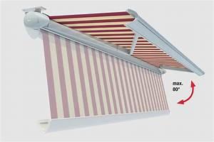 lewens look toscana markise vollkassette sonne With markise balkon mit bild auf tapete drucken