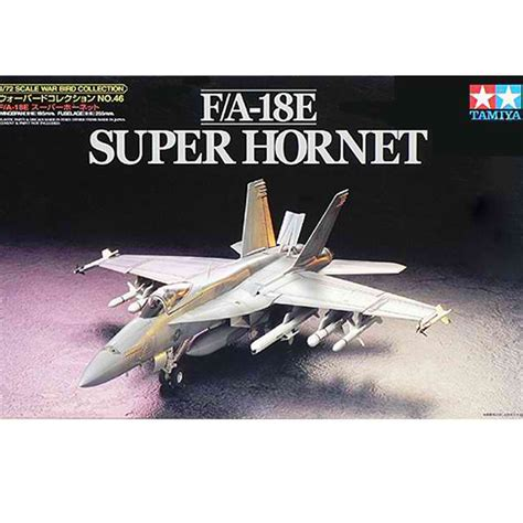 Tamiya 1/72 60746 F/a-18e Super Hornet Model Kit