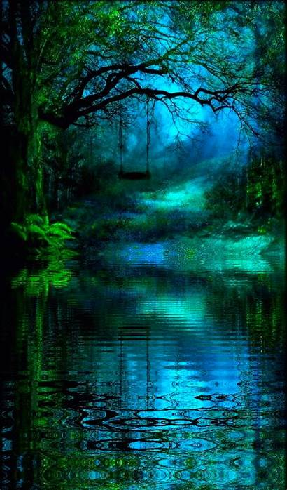 Nature Landscapes Forest Fantasy Places Scenery Pretty