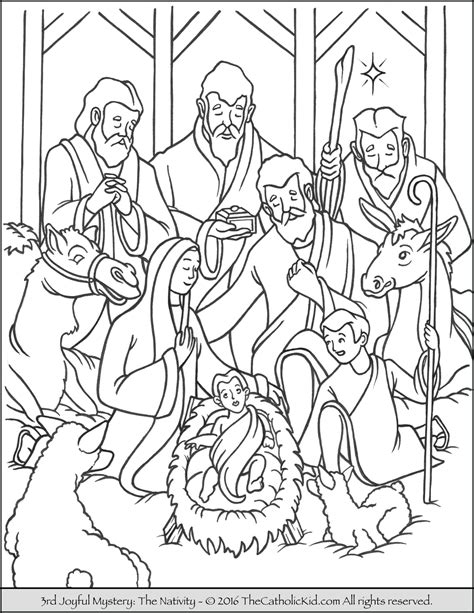 luminous mysteries coloring pages coloring pages
