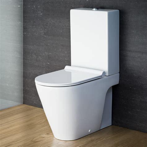 fitted sheet catalano zero monobloc toilet suite with slim seat