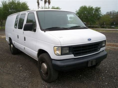 1996 Ford E 250 by Purchase Used 1996 Ford E 250 Econoline Base Extended