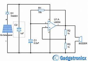 Solar Powered Beacon Circuit
