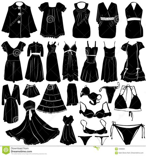 fashion women dress vector stock vector image  official