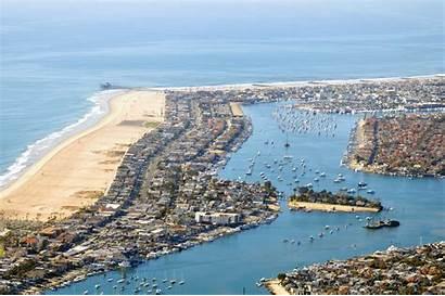 Newport Harbor Beach California Bay Logan Ramey
