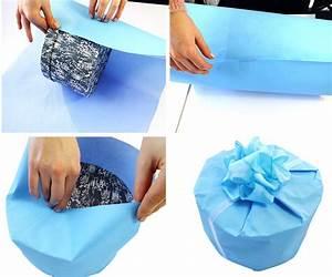 Rundes Geschenk Einpacken : geschenke verpacken leicht gemacht gefunden auf ~ Eleganceandgraceweddings.com Haus und Dekorationen