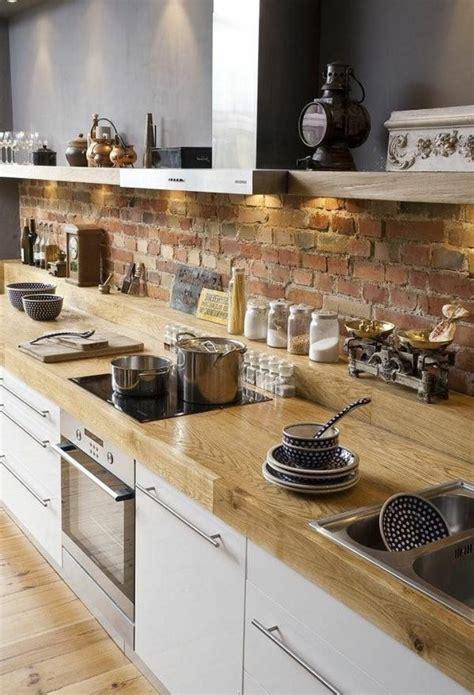 plan de cuisine bois les 25 meilleures idées concernant plan de travail sur