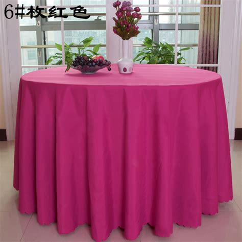 Online Buy Wholesale Hot Pink Table Linens From China Hot