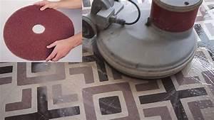 nettoyer un sol en carreaux granito youtube With carreaux granito