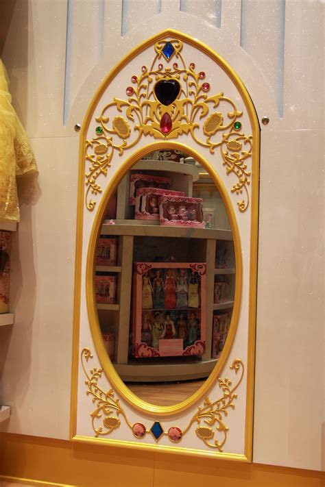 interactive magic mirror installation  disney store