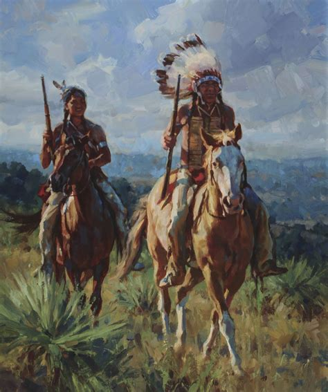 Sioux Riders Jason Rich Western Artists Native