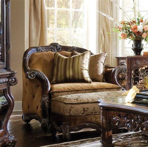 aico essex mano living room set michael amini design
