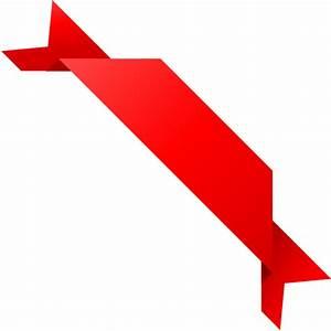 CORNER RIBBON03 RED Vector Data | SVG(VECTOR):Public ...