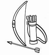 Bow Clipart Arrow Archery Arco Colorear Sketch Coloring Flechas Clip Dibujos Colorir Indian Desenho Imagui Drawing Printable Arcos Indio Desenhos sketch template
