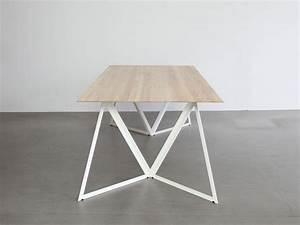 Pied De Table Metal : pied table metal 6 blog d co design ~ Teatrodelosmanantiales.com Idées de Décoration