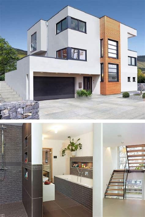 Moderne Leistbare Häuser by Haus Mit Flachdach Wohn Design