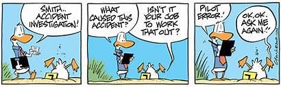 Investigation Accident Cartoons Swamp