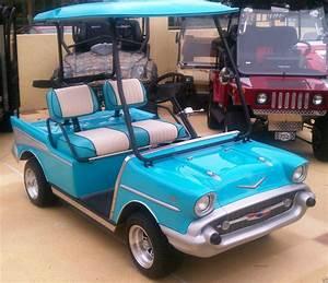 57 U0026 39  Chevy Golf Cart Body Fits Club Car Ds Any Year