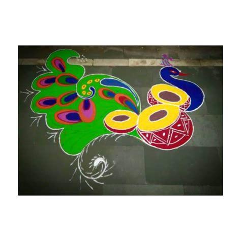 easy rangoli designs patterns  diwali