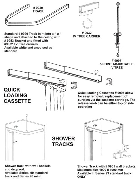 the curtain hardware company products
