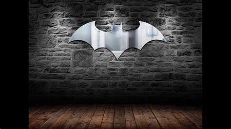 batman logo mirror does reflections in style much