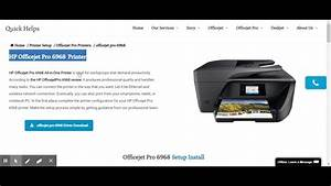 Officejet Pro 6968 Driver Download
