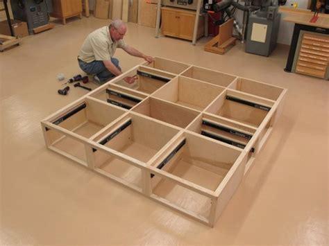 build solid wood platform bed loccie  homes