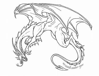 Dragon Fierce Ember Deviantart Eyes Dragons Line
