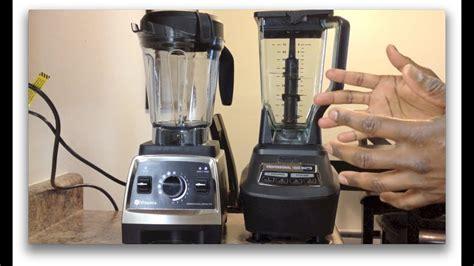 ninja mega kitchen system   vitamix  showdown