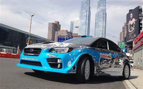 subaru wrx sti global rallycross car previewed